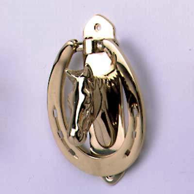 Brass horse head door knocker - Horse head door knocker ...