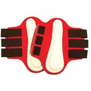 Nylon Covered Neoprene Splint Boots with White Patches(Pairs)