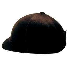 Hard Peak Stretch Velvet Helmet Cover