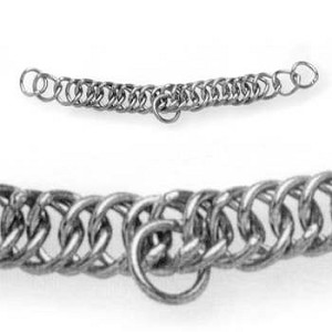English Double Link Curb Chain