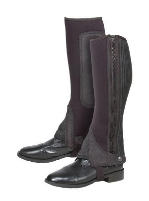 Tough 1 Neoprene Luxury Suede Half Chaps