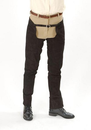 Tough 1 Suede Leather Schooling Chaps
