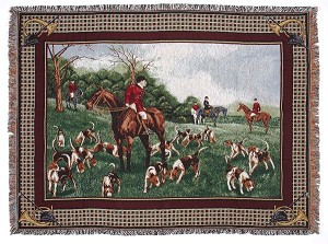 Fox Hunt Throw
