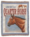 American Quarter Horse Throw