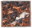 Horse of aDifferent Color Throw