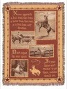 Western Quotes Throw
