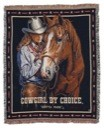 Cowgirl by Choice Throw