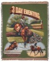 Horse 3 Day Eventing Throw