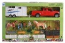 Riding Academy Playset with Truck and Trailer
