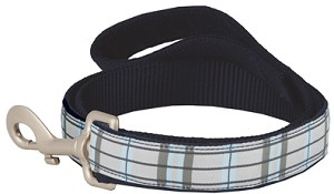 Granite Plaid Lami-Cell Dog Leash