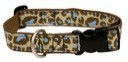 Cheetah Print Lami-Cell Dog Collar
