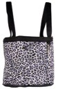 Snow Leopard Lami-Cell Small Stable Tote