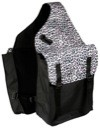Snow Leopard Lami-Cell Medium Saddle Bag