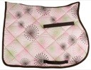 Fireworks Print Lami-Cell All Purpose English Saddle Pad