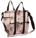 Fireworks Print Lami-Cell Large Stable Tote