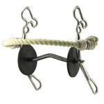 Freeman Gag Bit with Rope Nose Band