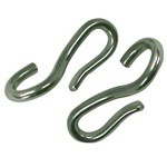 Stainless Steel Curb Chain Hooks (Pairs)