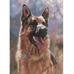 German Shepherd Card 6 Pack