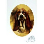 The Bassett Pup Card 6 Pack
