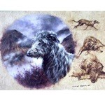 The Deerhound Card 6 Pack (Scottish Deerhound)