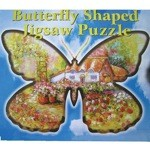 Shaped Butterfly Puzzle