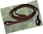 Leather Laced English Reins
