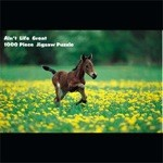 Foal in Flowers Puzzle