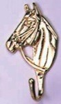 Small Brass Horsehead Hook