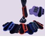 Nylon Covered Neoprene Splint Boots with Black Patches