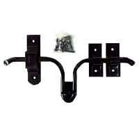Powder Coated Steel Gate Latch or Barn Door Latch