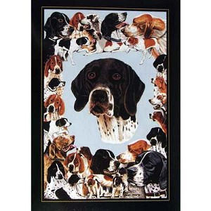 Pointer Card 6 Pack (English Pointer)