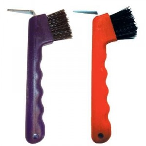 Hoof Pick with Brush