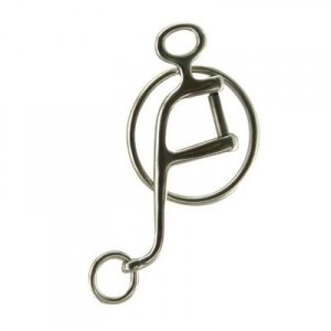 Interchangeable Walking Horse Shank with Rings 6''