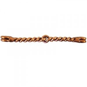 Copper Twisted Wire Mouthpiece for Interchangeable Shanks