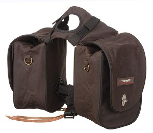 Tough 1 Deluxe Trail Pommel Bag with Two Side Pockets
