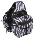 Tough 1 Multi-Pocket Insulated Nylon Saddle Bag in Leopard