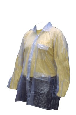 Clear Rain Jacket by Partrade