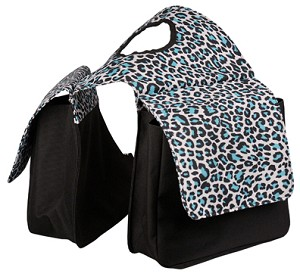 Snow Leopard  Lami-Cell Small Pocket Horn Bag