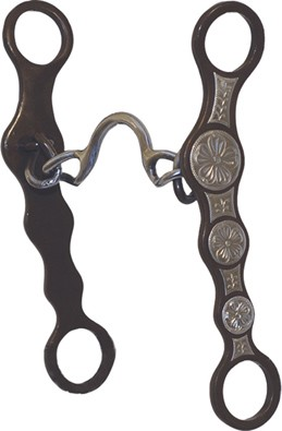 Metalab Antique Conchos Ported Chain Bit