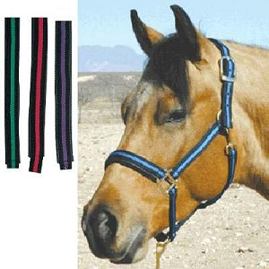 Two Color Nylon Halter 1""