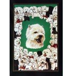 Westies All Around Card 6 Pack (West Highland Terrier)