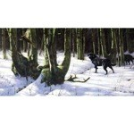 Labrador Retriever Winter Wonderland Card 6 Pack