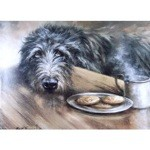 Wishful Thinking Card 6 Pack (Scottish Deerhound)