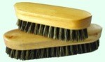 Pig Bristle Body Brush 8.5''