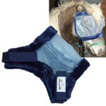 Deluxe Bug Off Mini Horse Fly Mask