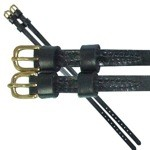 English Military Spur Strap with Brass Buckles