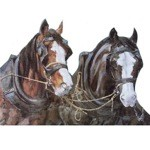 Team Mates Card 6 Pack (Draft Horses)