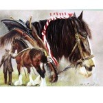 Gentle Giants Card 6 Pack (Draft Horse)