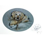 The Chairman Card 6 Pack (Labrador Retriever)