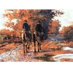 End of a Good Day Card 6 Pack (Riding Horses)